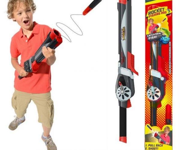 Rocket Fishing Rod: The Gun That Catches Fish