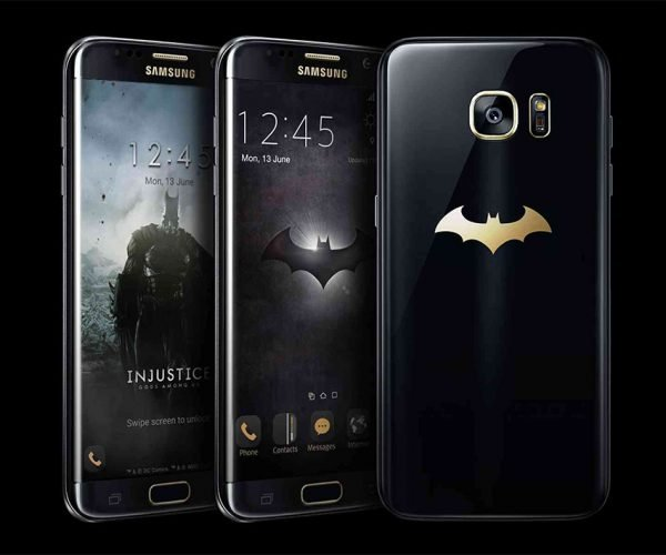 Samsung Outs Injustice Themed S7 Edge Batphone