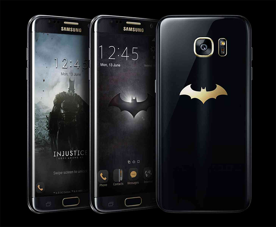 Samsung Outs Injustice Themed S7 Edge Batphone - Technabob