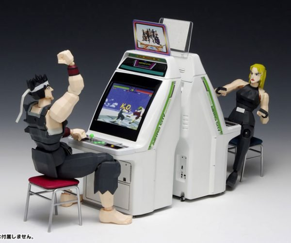 Wave Sega Astro City Arcade Machine 1/12 Scale Model: Virtua Pocket Fighter