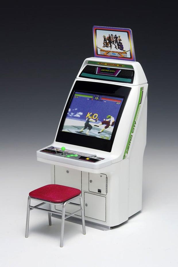 Wave Sega Astro City Arcade Machine 1 12 Scale Model