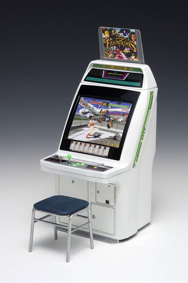 Honda Civic Colors >> Wave Sega Astro City Arcade Machine 1/12 Scale Model: Virtua Pocket Fighter - Technabob