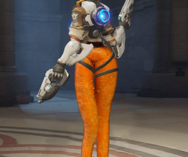 Sexy Carrot Tracer Has a Better Bum than You