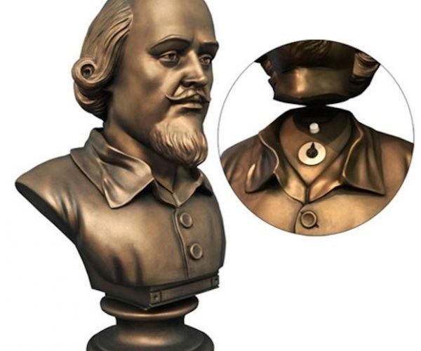 Batman 1966 Shakespeare Bust Bank: To the Bat-Poles!