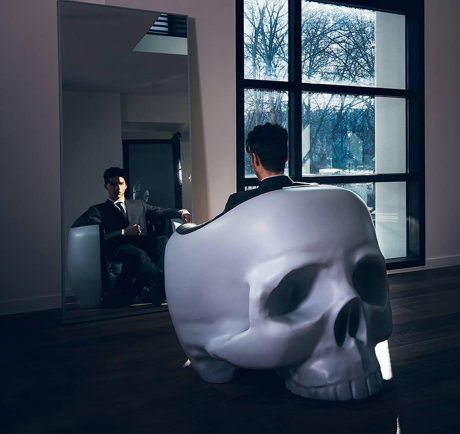 A Giant Skull Armchair For Your Castle Grayskull