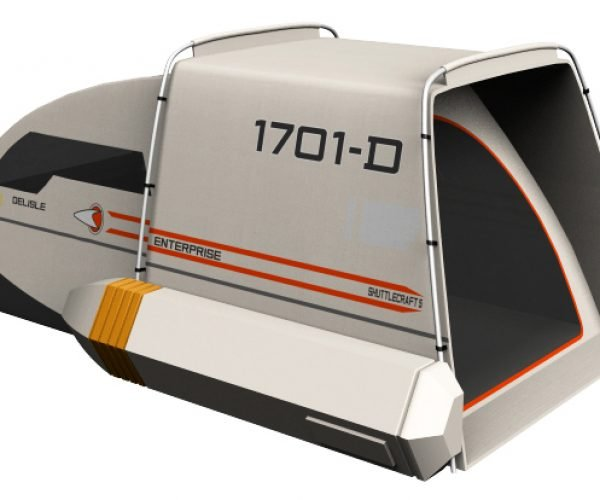 Star Trek Shuttlecraft Tent Concept: Summer Camp, the First Frontier