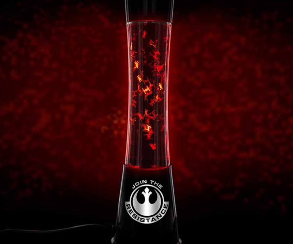 Star Wars Lava Lamp: My God, It's Full of Ships