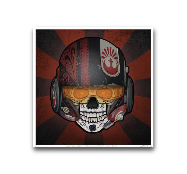 star_wars_the_force_awakens_day_of_the_dead_prints_by_john_karpinsky_3