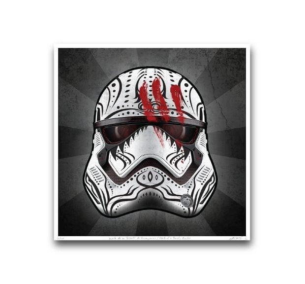 star_wars_the_force_awakens_day_of_the_dead_prints_by_john_karpinsky_5