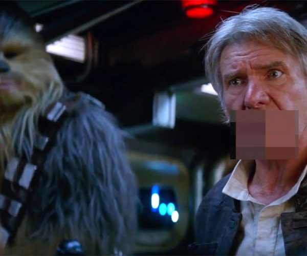 The Bleep Awakens - Star Wars: The Force Awakens Unnecessarily Censored