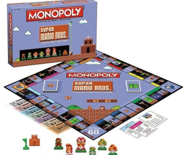 Super Mario Bros. Monopoly: Your Princess Is in Another Hotel