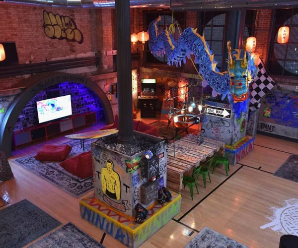 The Teenage Mutant Ninja Turtles Put Their Apartment on Airbnb: Viral Power
