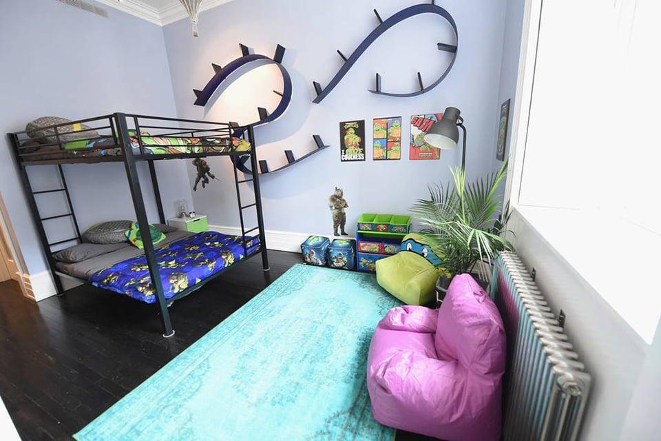 The Teenage Mutant Ninja Turtles Put Their Apartment On