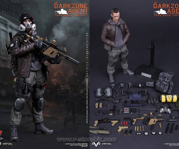 The Darkzone Agent Action Figure: Tom Copycat's The Division