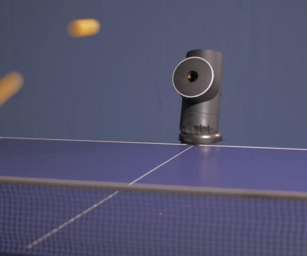Trainerbot Ping Pong Robot: Eiichiro Maruobot