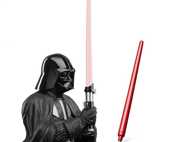 Darth Vader Pen Holder: The Pen is Mightier than the Lightsaber