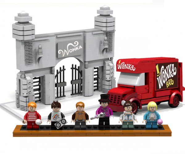 Give This Willy Wonka LEGO Set a Golden Ticket