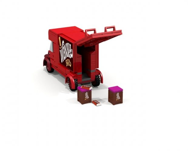 give this willy wonka lego set a golden ticket technabob