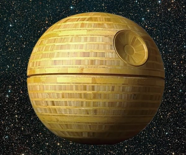 This Wooden Death Star Is The Ultimate Weapon in the Workshop