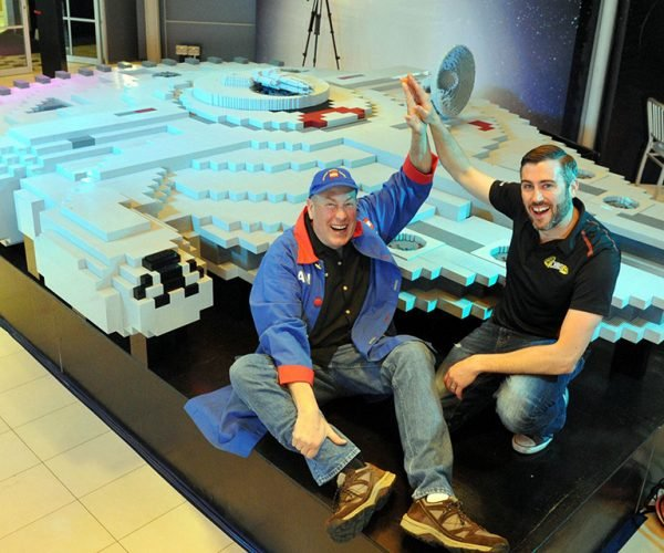 World's Largest LEGO Millennium Falcon Built in Legoland Malaysia: The Force Assembles