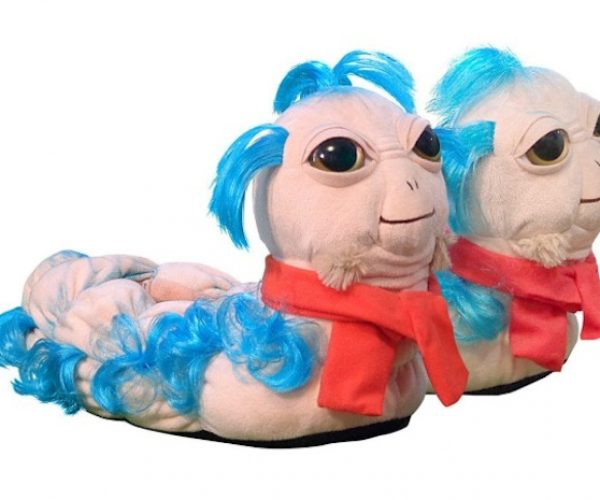 Labyrinth 'Ello Worm Slippers Will Guide Your Feet on The Proper Path