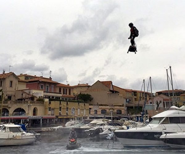 Dude Crushes Hoverboard Distance World Record with Actual Flying Hoverboard