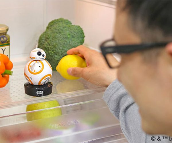 Star Wars BB-8 Talking Fridge Monitor: The Fridge Awakens