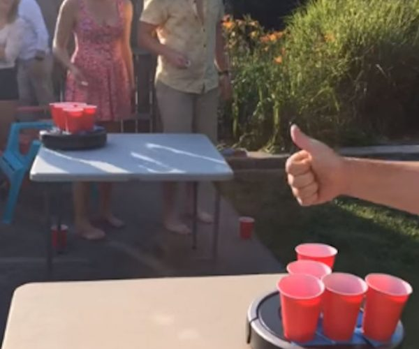 Roomba Beer Pong Ups the Ante