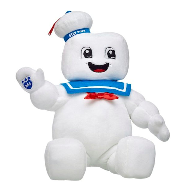 Build A Bear Goes Ghostbusters Ghost Bear Sters Technabob
