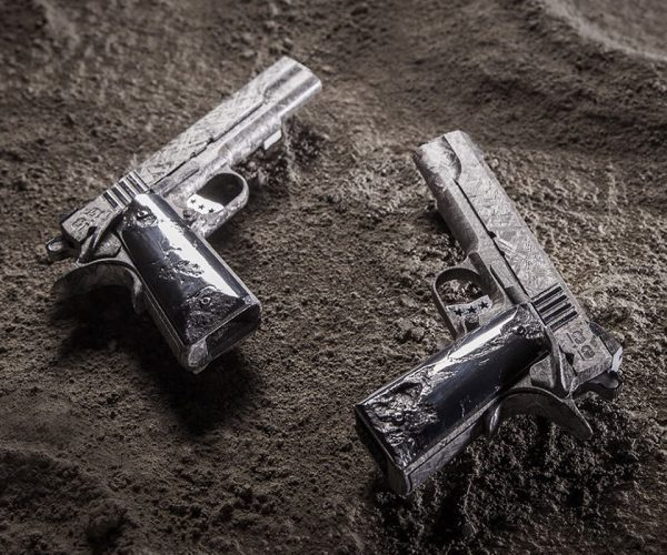 These Guns Are Made from a 4.5 Billion Year-old Meteorite