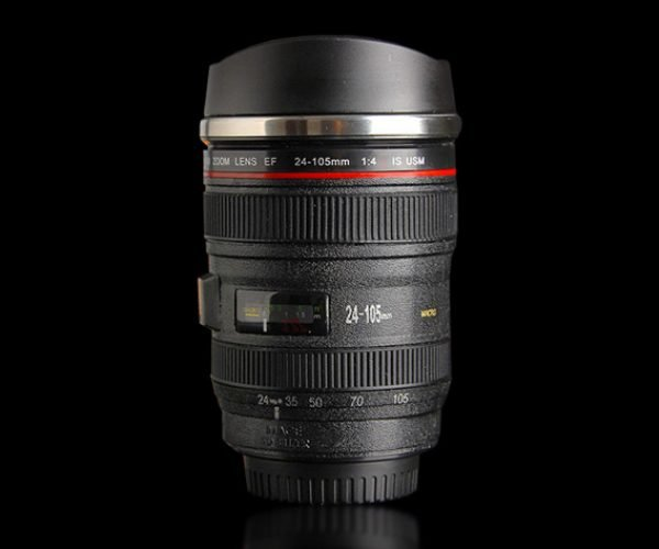 Deal: Save 35% on This Self-stirring Camera Lens Mug