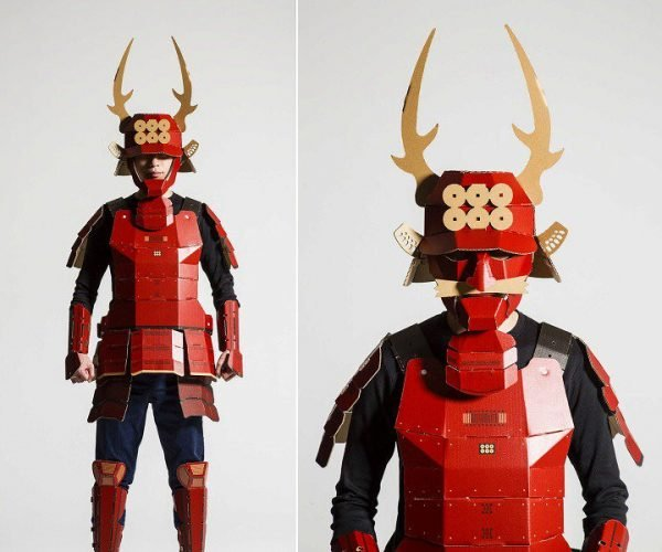 This Cardboard Samurai Armor Won't Save Your Life
