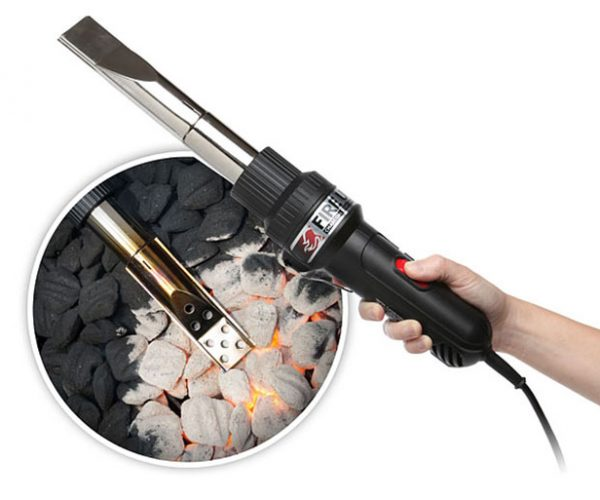 Fire UP Charcoal Starter Wand Lets You Ditch the Lighter Fluid