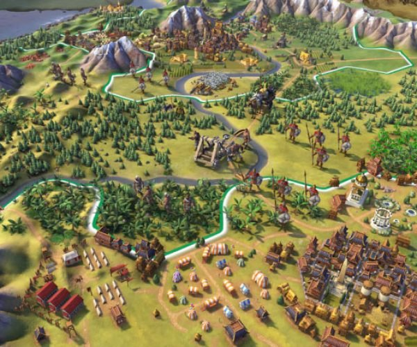 Civilization VI Cities are Something Completely Different