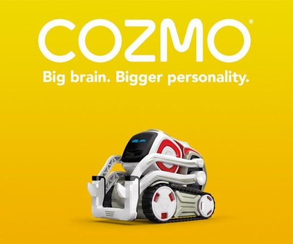 Cozmo Is a Tiny Pixar Style Robot: COZM-E