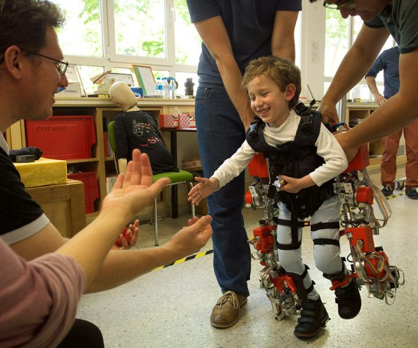 Exoskeleton Aims to Keep Kids with Rare Disease Healthy