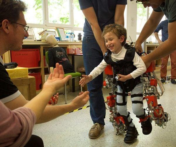 Exoskeleton Aims to Keep Kids with Rare Disease Healthy
