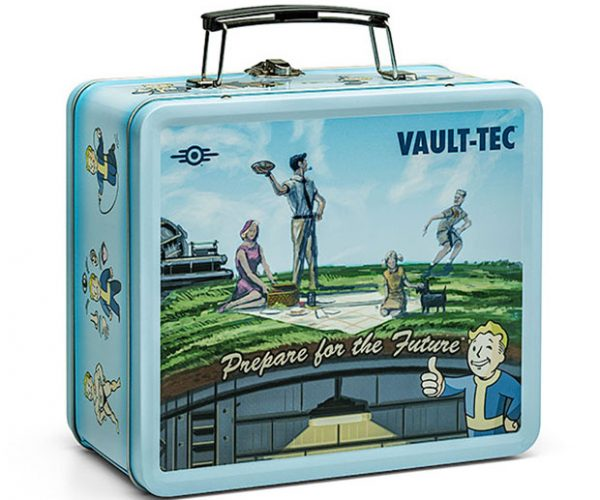 Fallout Shelter Pre-War Lunchbox Holds more than One Plastic Fork