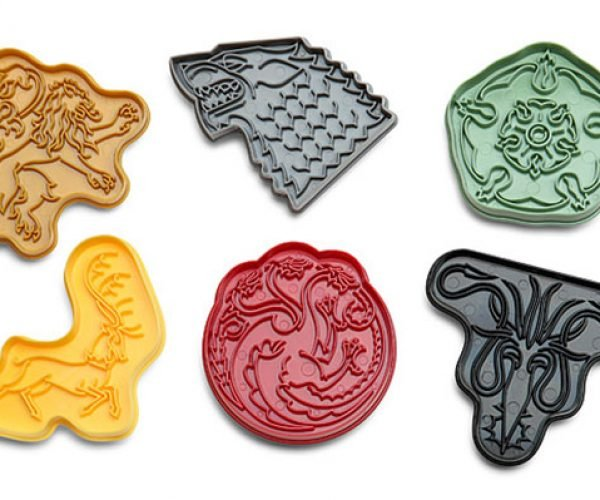 Game of Thrones House Sigil Cookie Cutters: Game of Cookies