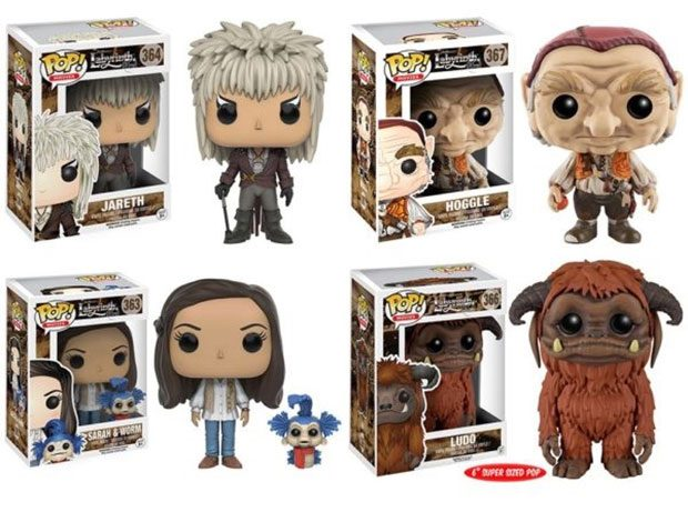 Labyrinth Funko POP! Figures Won't Steal Your Baby Brother - Technabob Labyrinth 1986 Sarah
