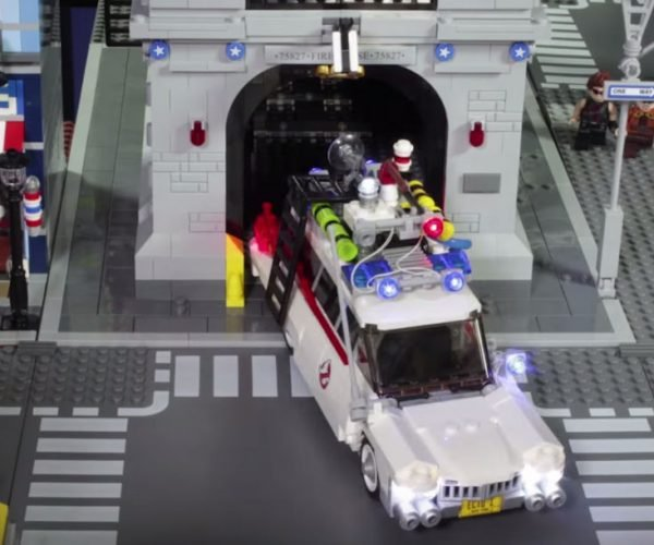 Ghostbusters Retold in Epic LEGO Stop-Motion Short