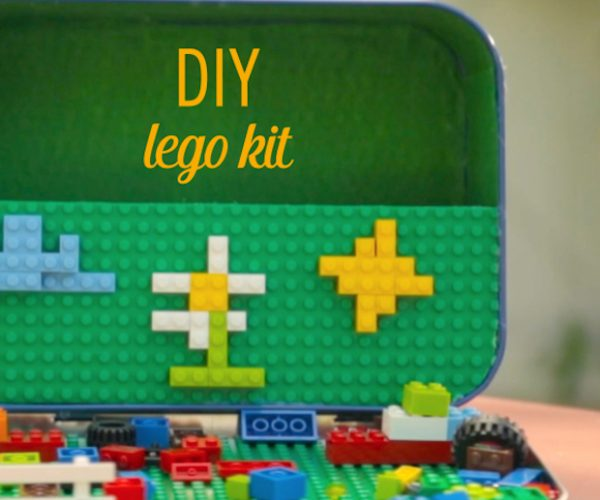 DIY LEGO Lunchbox Kit: For Brick Building Emergencies