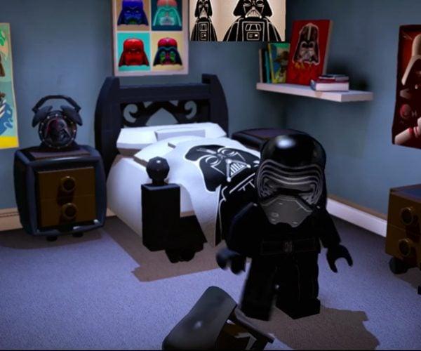LEGO Kylo Ren Has a Sweet Bedroom