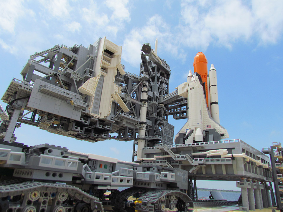 This LEGO Space Shuttle Is out of This World