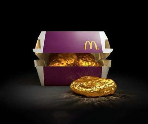 McDonald's Japan Giving Away Solid Gold McNugget