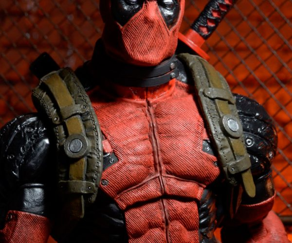 Deadpool 1/4 Scale Action Figure Only Lacks Chimichanga
