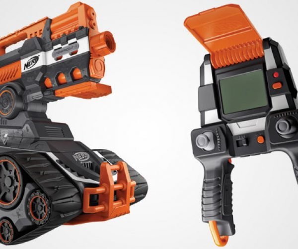 NERF Terrascout RC Drone Blaster Puts Eyes Out from Afar