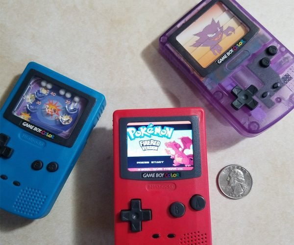 Burger King Game Boy Toy Modded into Working Handheld