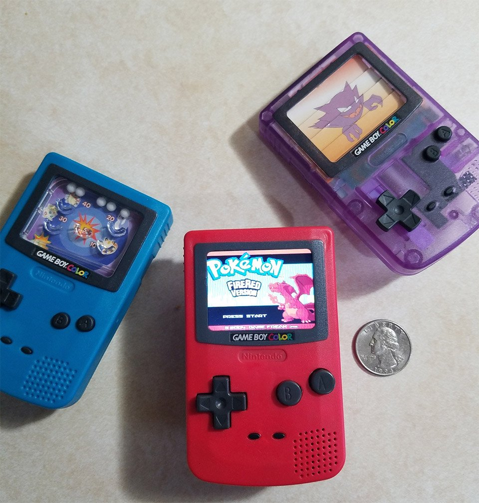 Boy Games Toy : Burger king game boy toy modded into working handheld