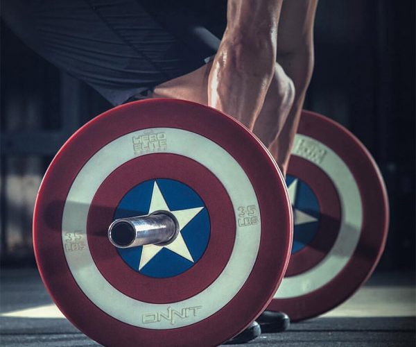 Captain America Weights: For When You're out of Serum